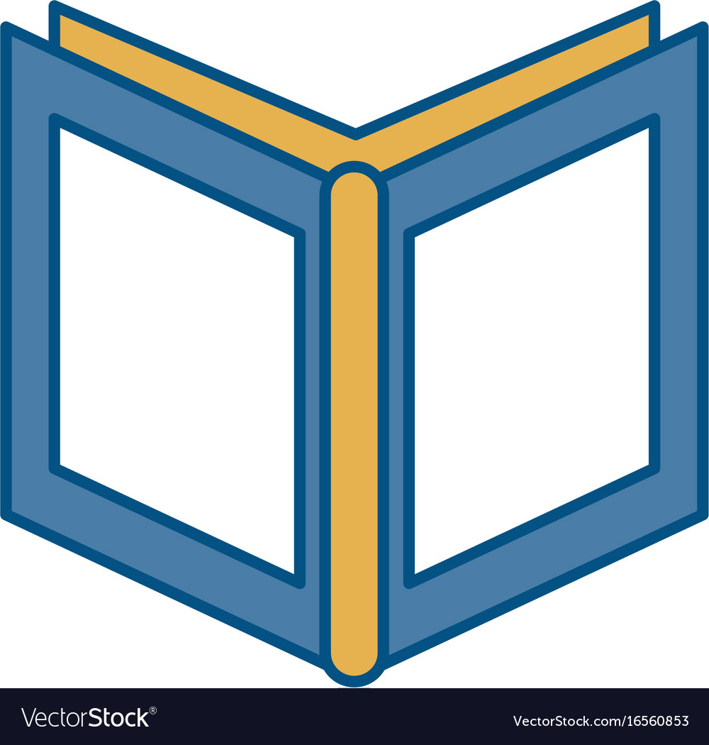 Academic book icon vector image