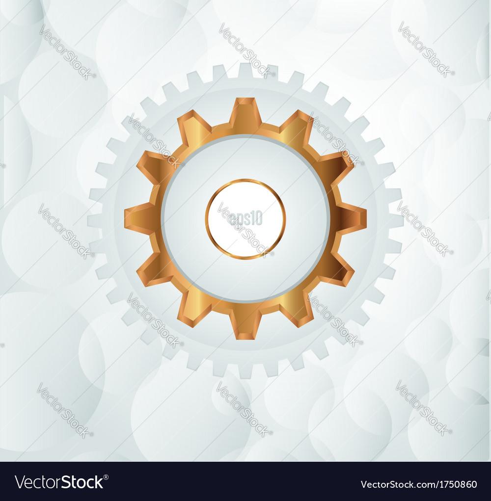Modern Layout Design vector image
