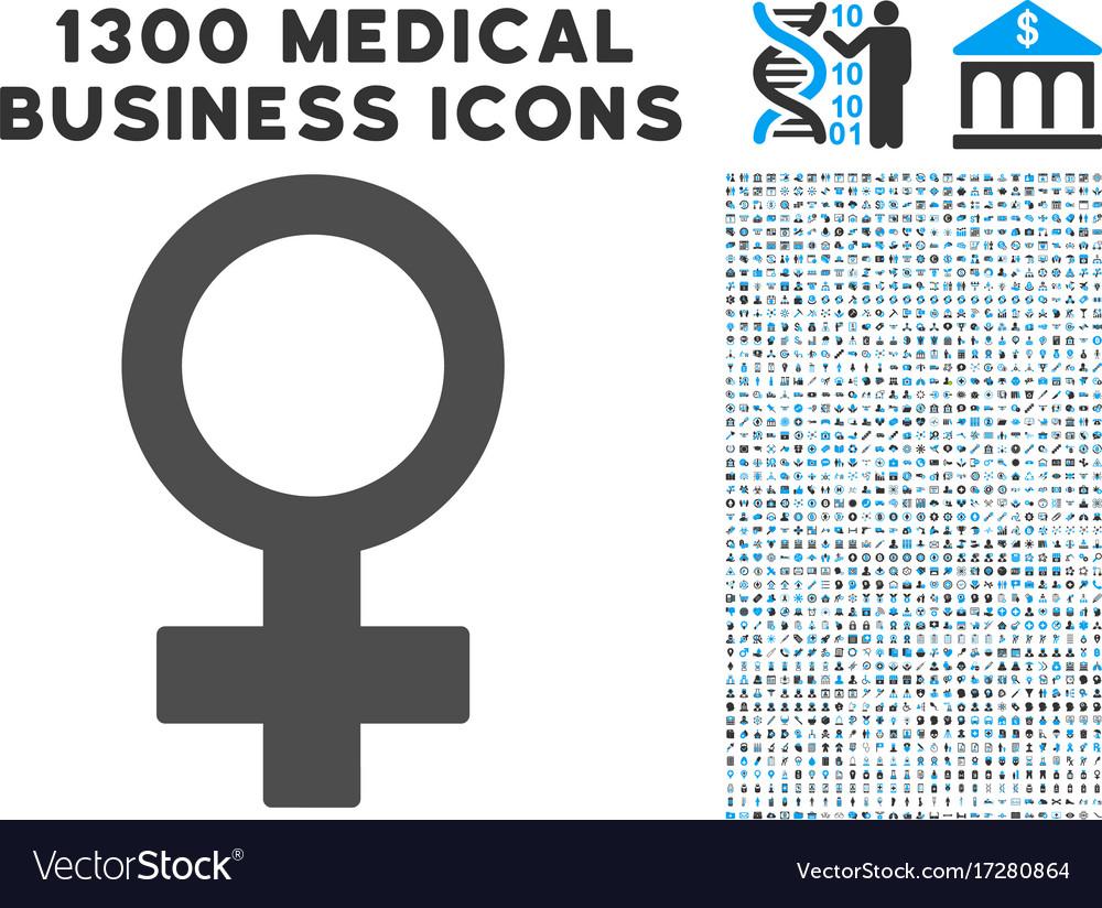Female symbol icon with 1300 medical business vector image female symbol icon with 1300 medical business vector image buycottarizona