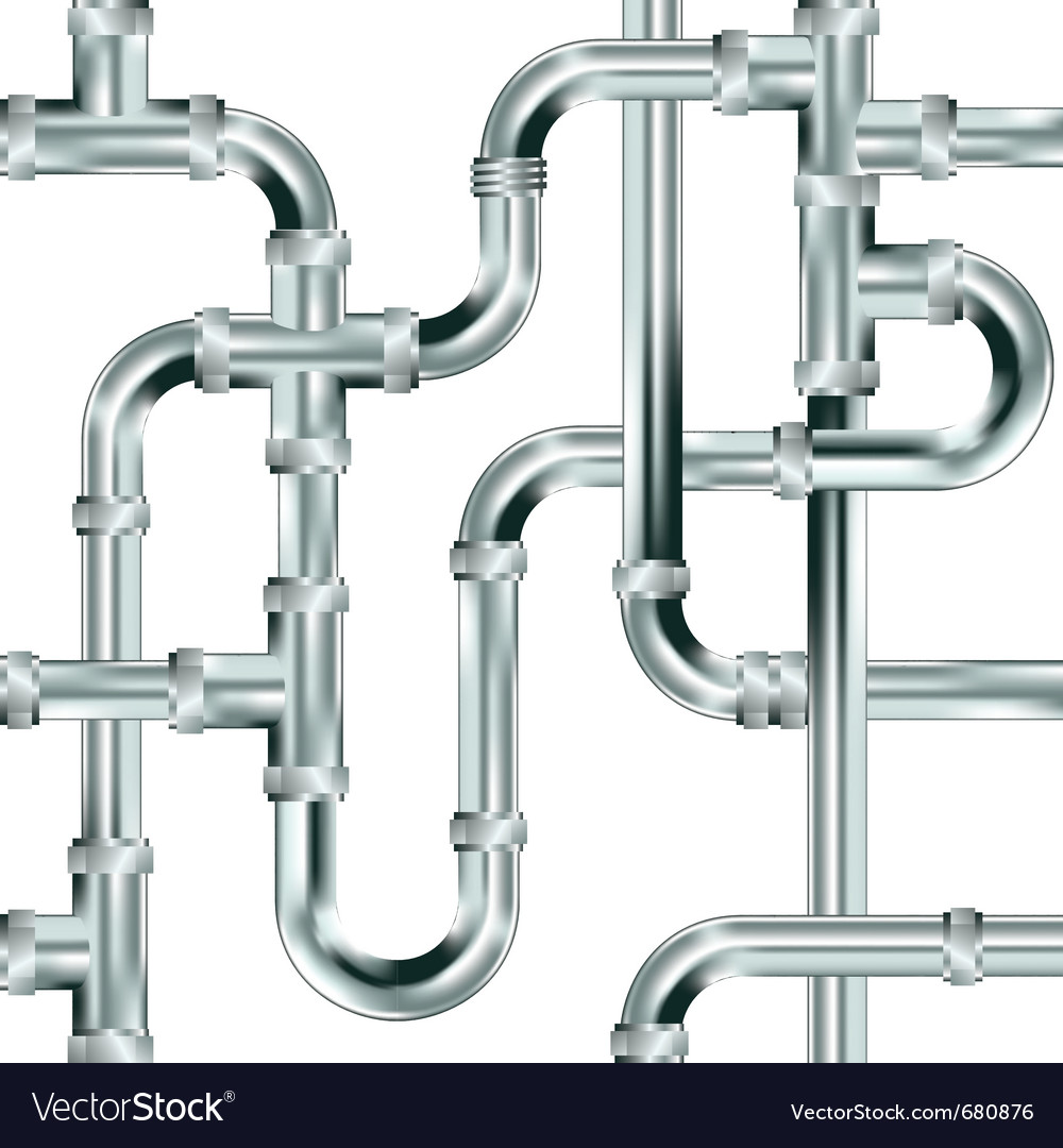 Pipes royalty free vector image vectorstock for What pipes to use for plumbing