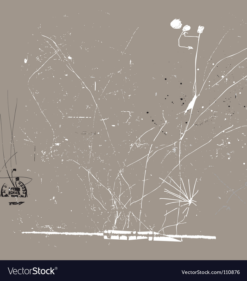 Subtle sketch vector image
