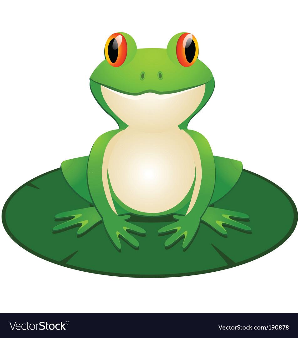 frog royalty free vector image vectorstock