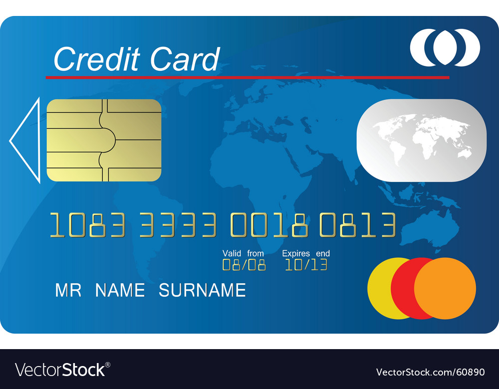 Credit vector image
