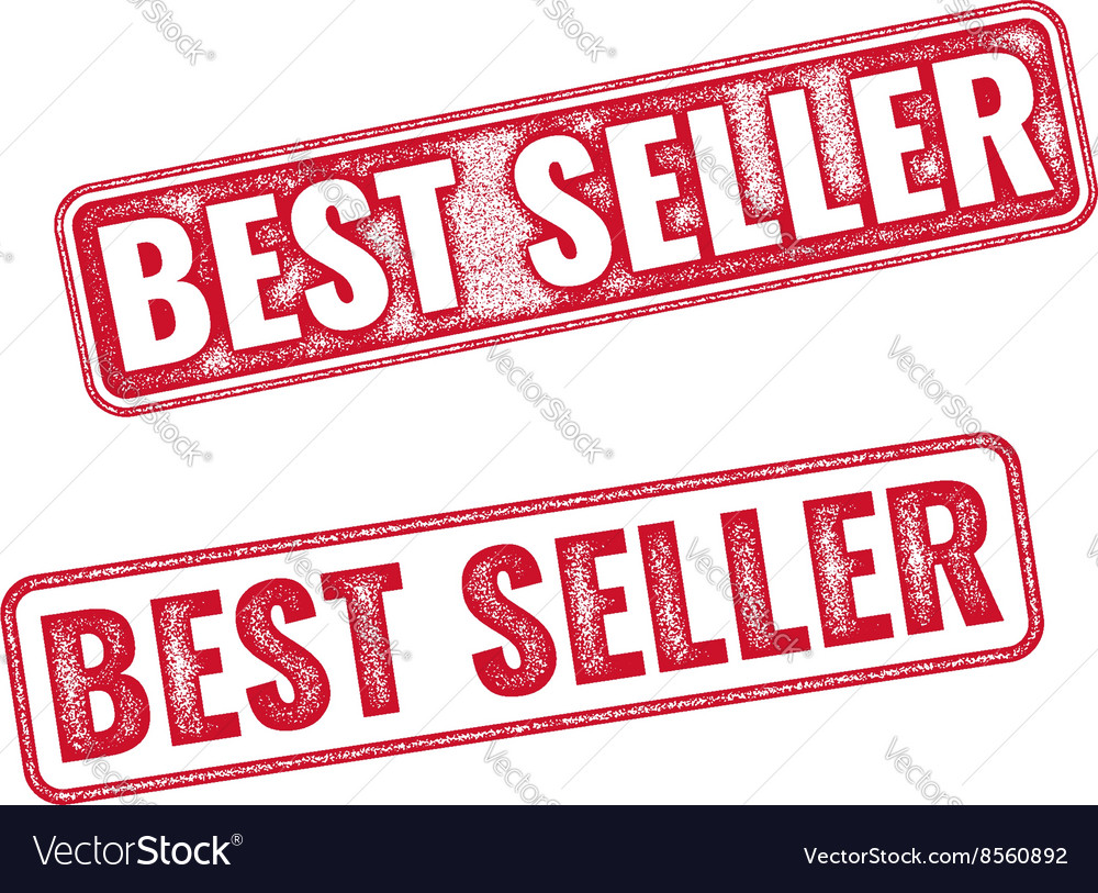 Realistic texture BestSeller stamp isolated vector image