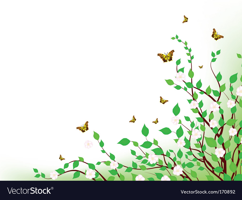 Spring inspiration vector image