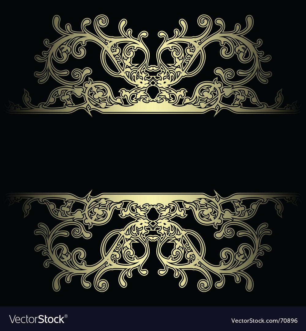Background boarder vector image