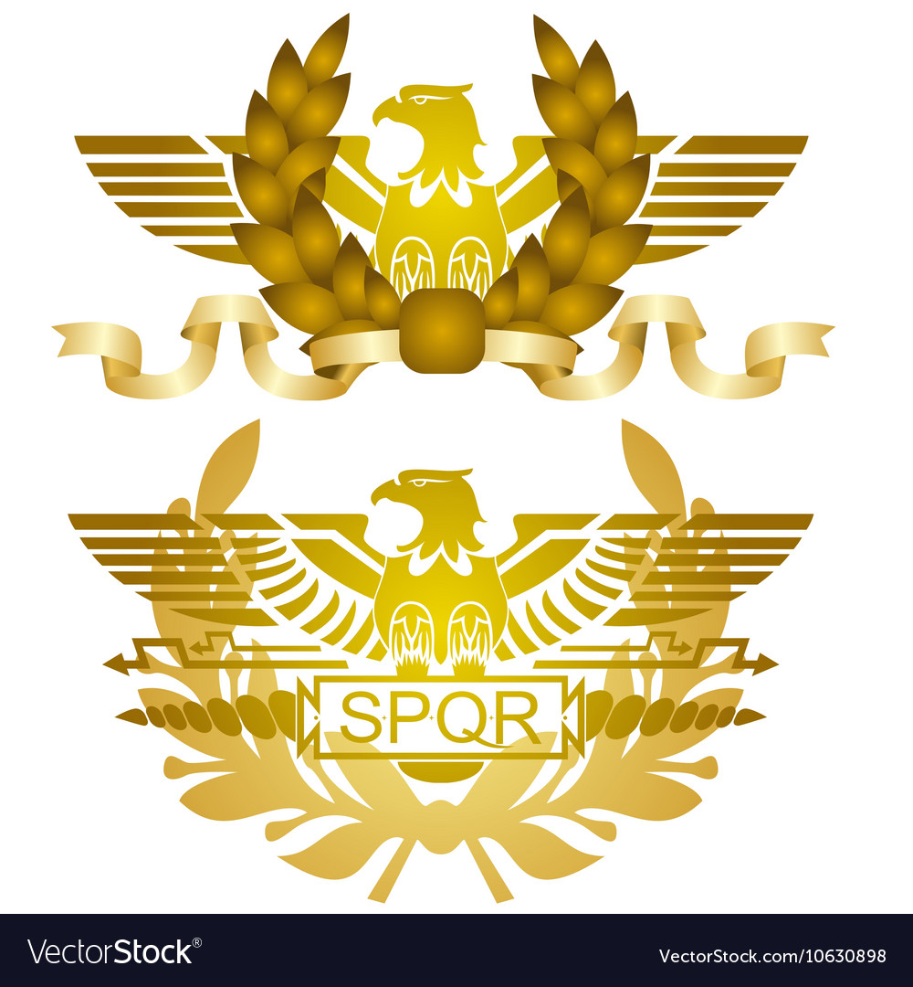 Symbols of Roman legions Vector Image by guarding - Image ...