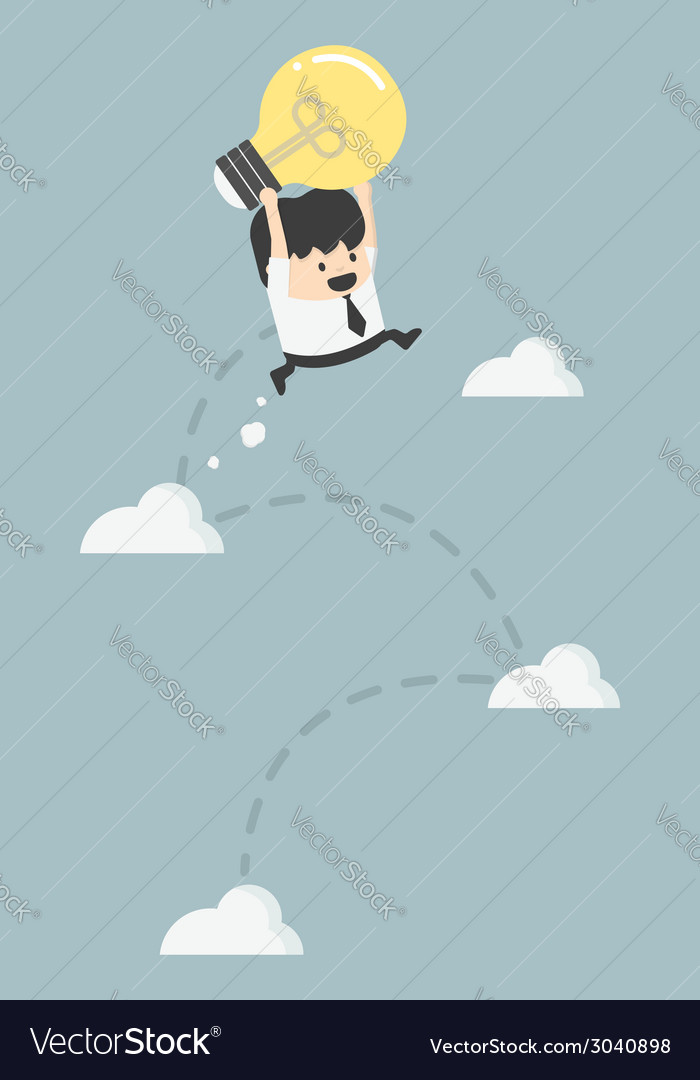 Freedom of thought To make a successful vector image