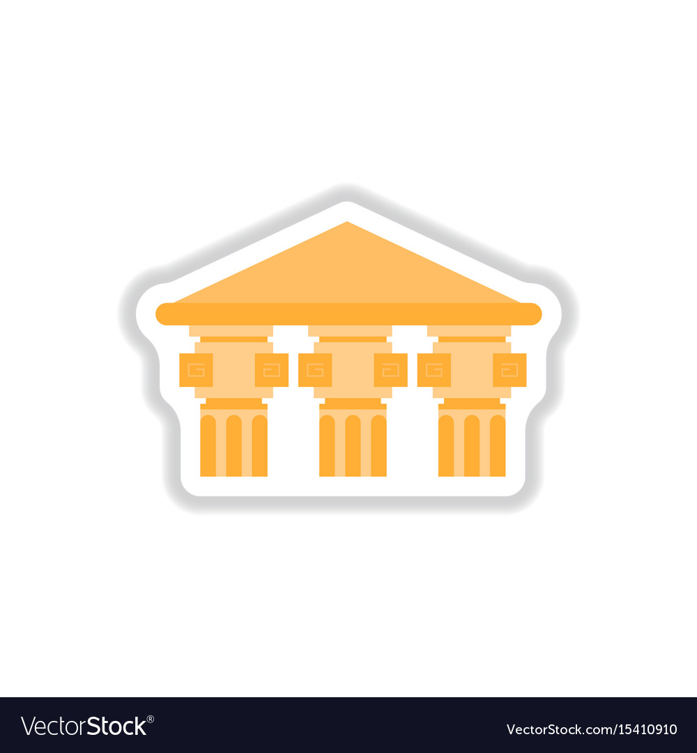 Architecture greek building doric temple
