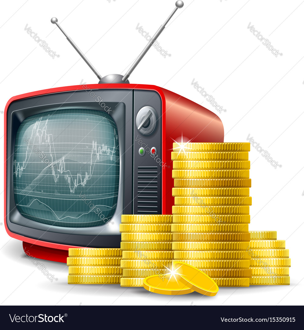 Business financial channel vector image