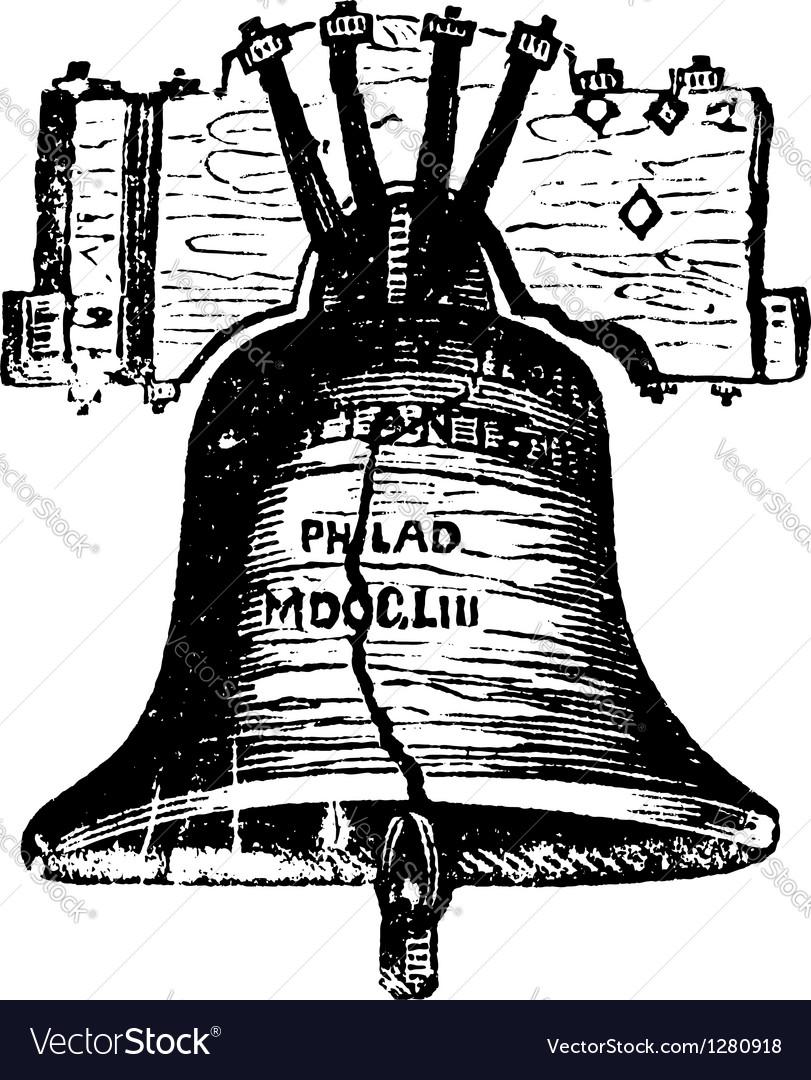 Liberty Bell USA vector image