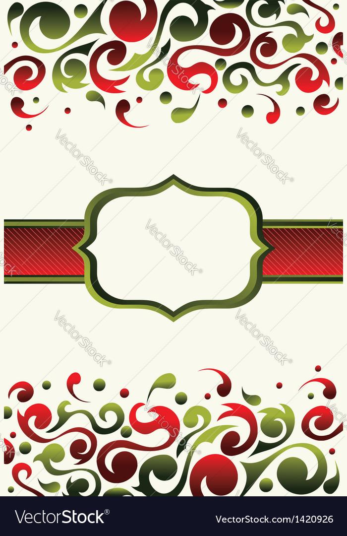 christmas invitation background