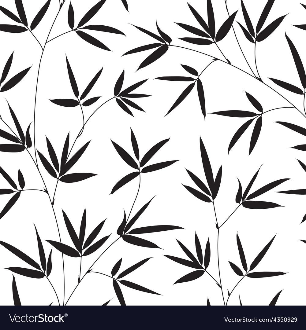 Bamboo texture vector image