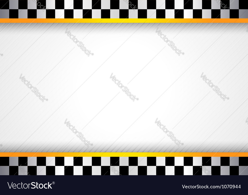 Race background vector image
