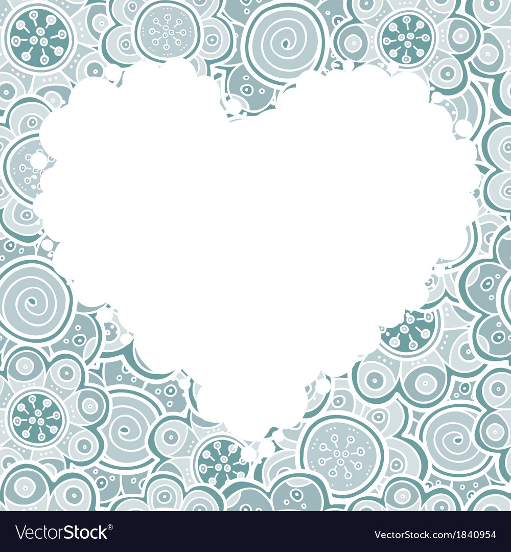A heart vector image