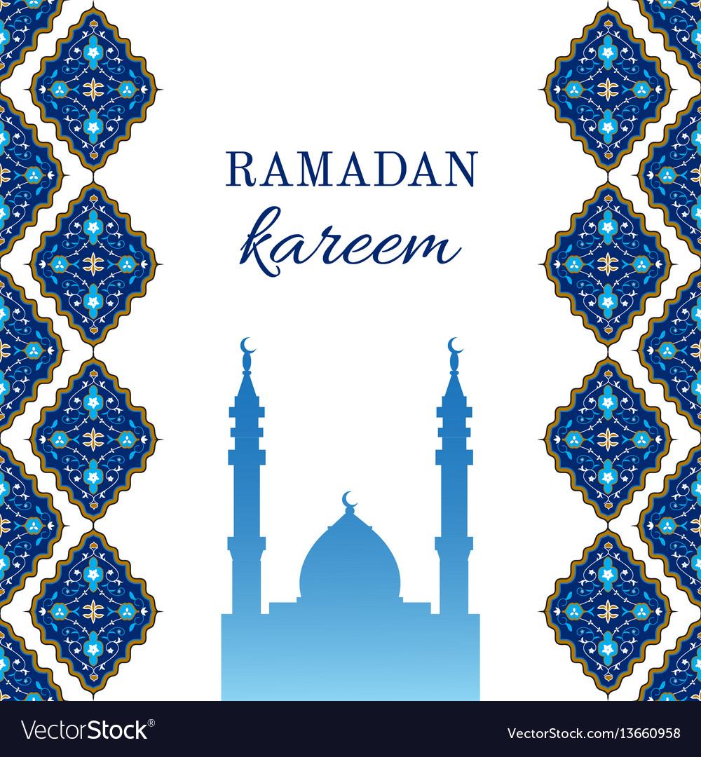 Ramadan greetings card royalty free vector image ramadan greetings card vector image kristyandbryce Images