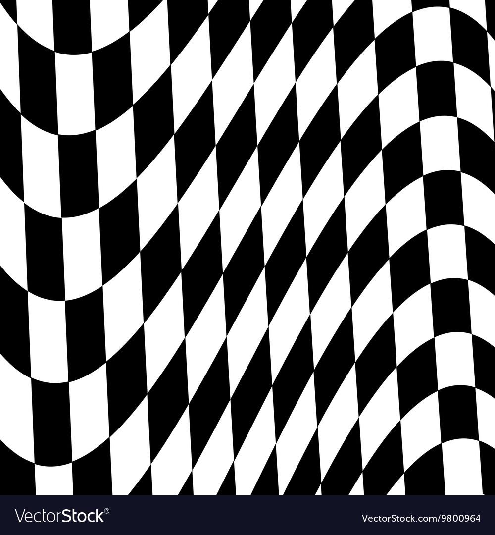 Finish flag background vector image