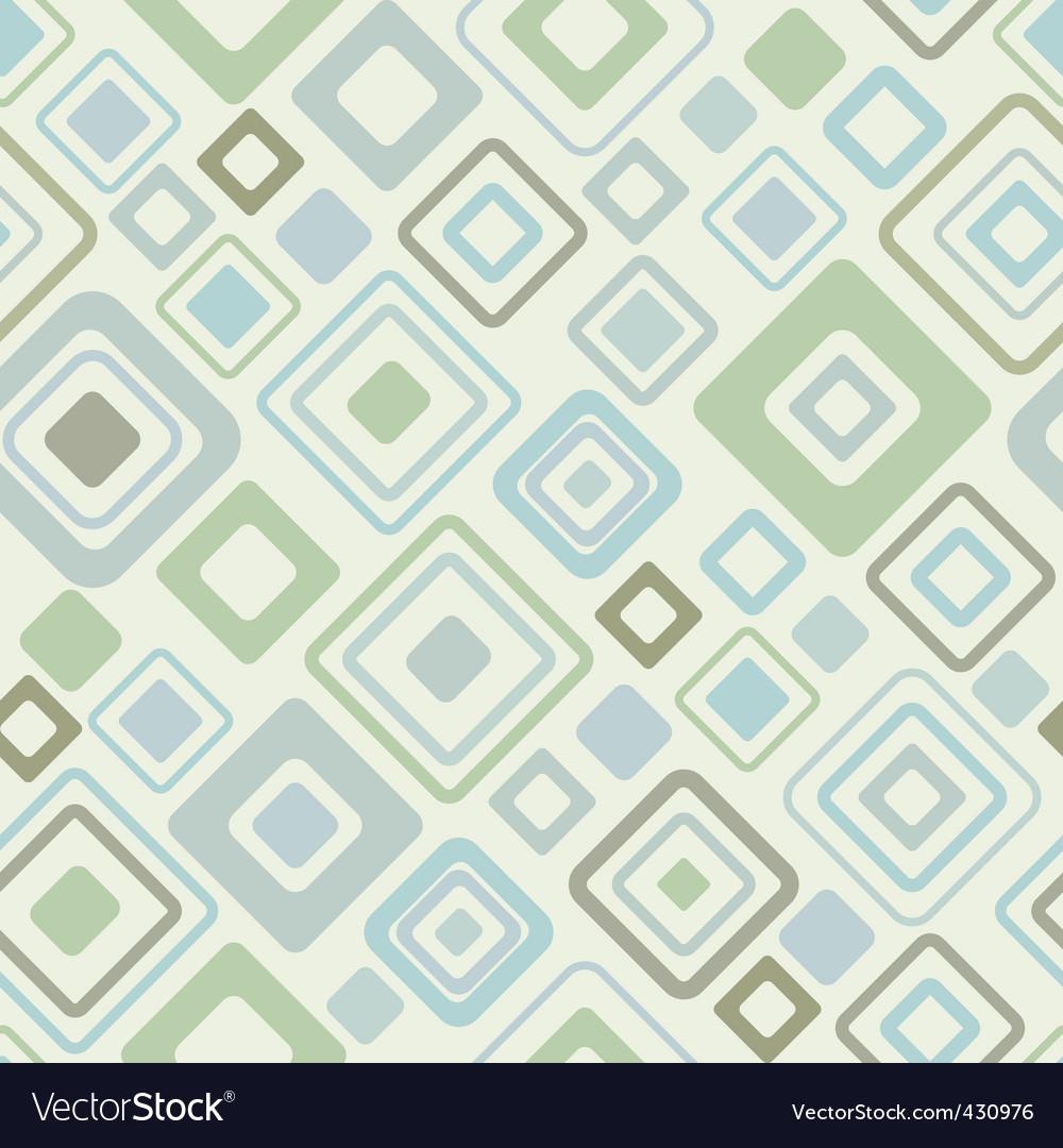 Vintage pattern vector vector image