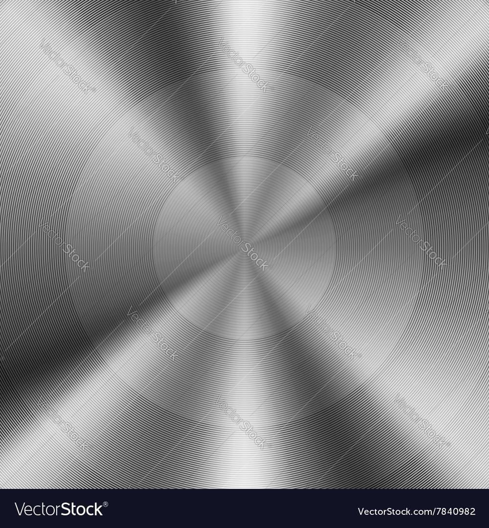 Brushed Metal Background 2 vector image