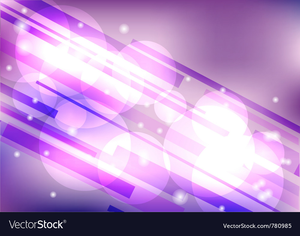 Shiny purple background vector image