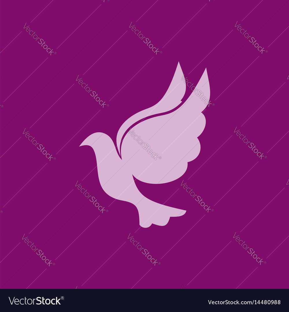 Dove a symbol of the holy spirit royalty free vector image dove a symbol of the holy spirit vector image biocorpaavc