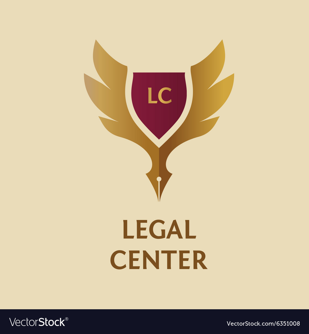 Template logo for legal notary Royalty Free Vector Image – Notary Template
