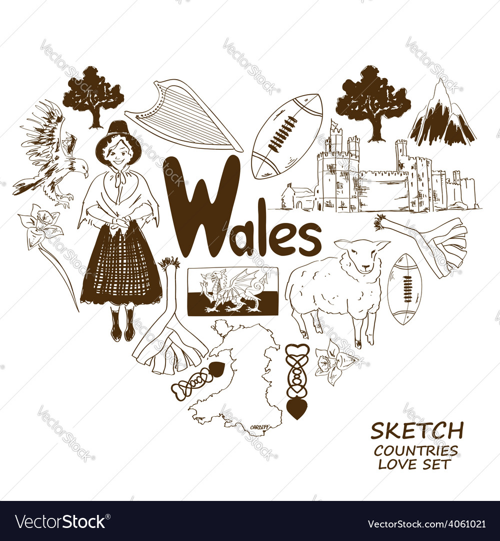 Wales daffodil vector images 16 buycottarizona Image collections