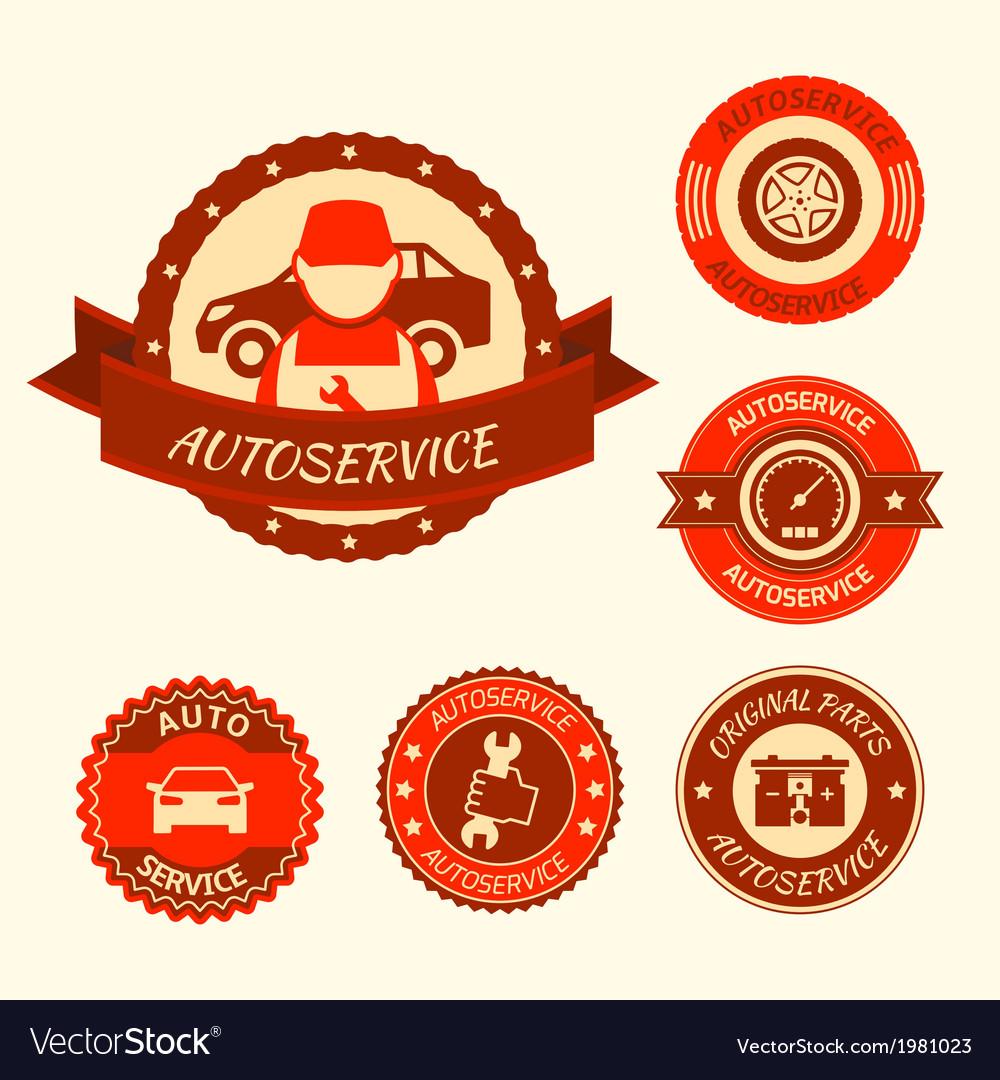 Car auto service set royalty free vector image car auto service set vector image biocorpaavc