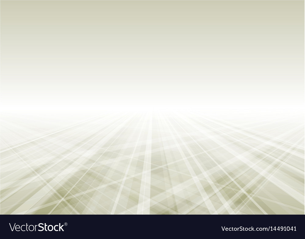 Abstract tech perspective background vector image