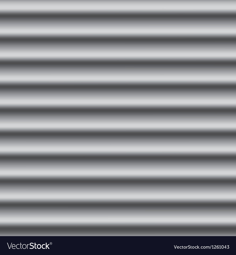 Corrugated metal background vector image