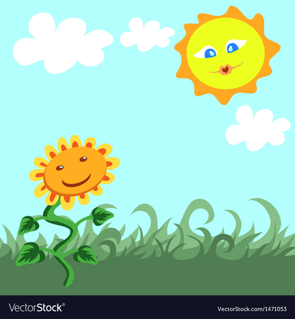 Beautiful Summer vector image