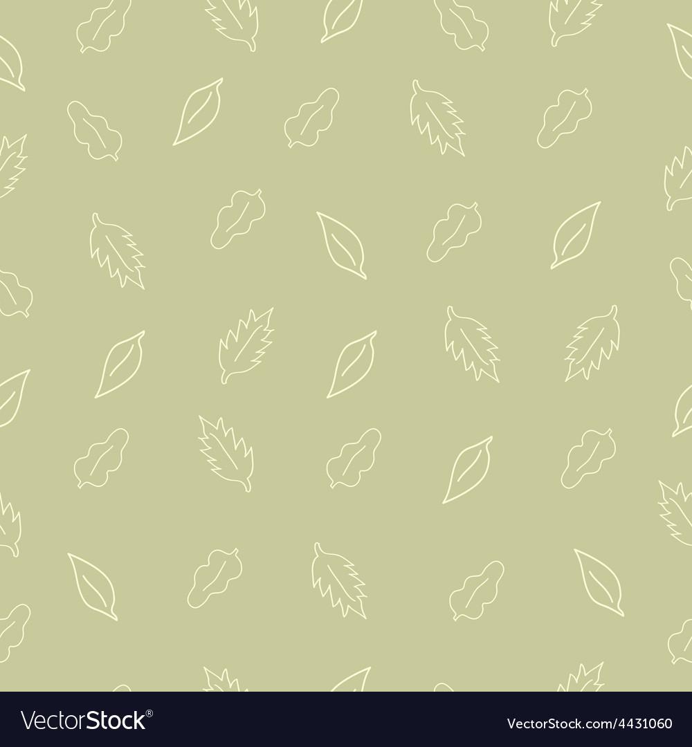 Pattern leaf5 vector image