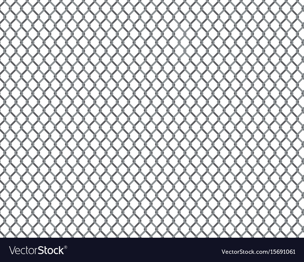 Rabitz grid seamless pattern vector image