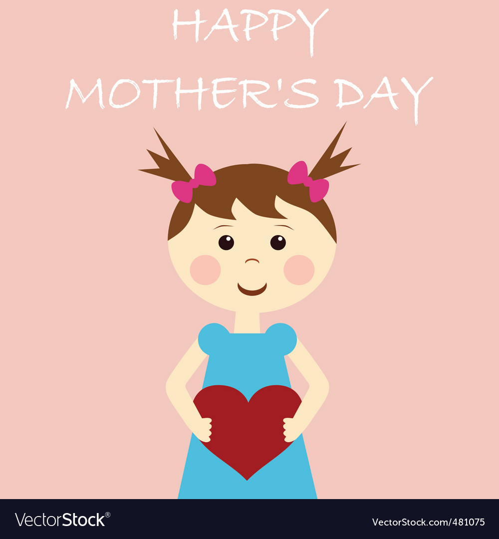 Happy mother's day vector image