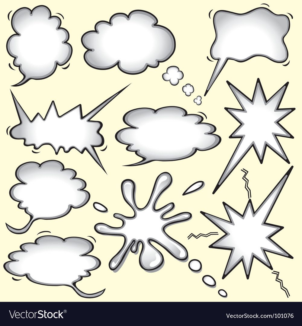 Comic book bomb vector image