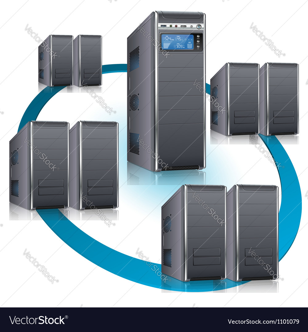 Network Concept vector image