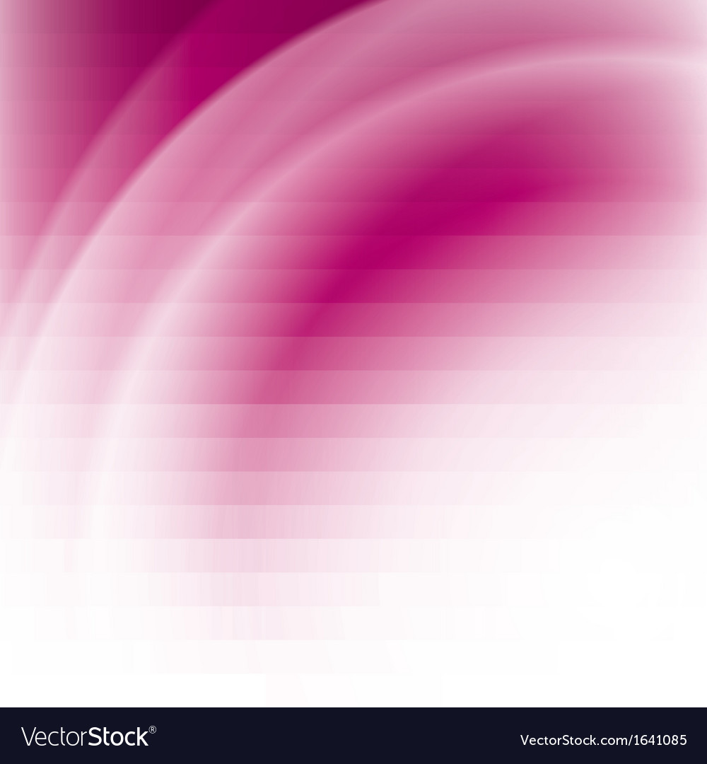 Pink business background with stripes and waves vector image