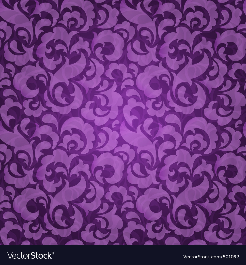 Abstract seamless wallpaper vector image