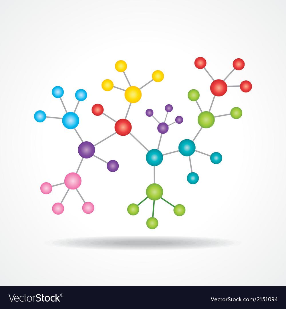 3d chemical color atomic structure molecule model vector image 3d chemical color atomic structure molecule model vector image ccuart Gallery