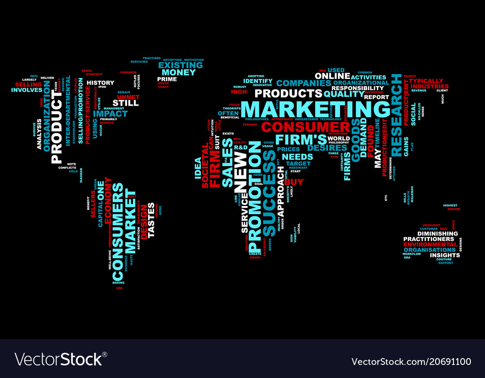 Word cloud bussiness concept world map from text vector image gumiabroncs Choice Image