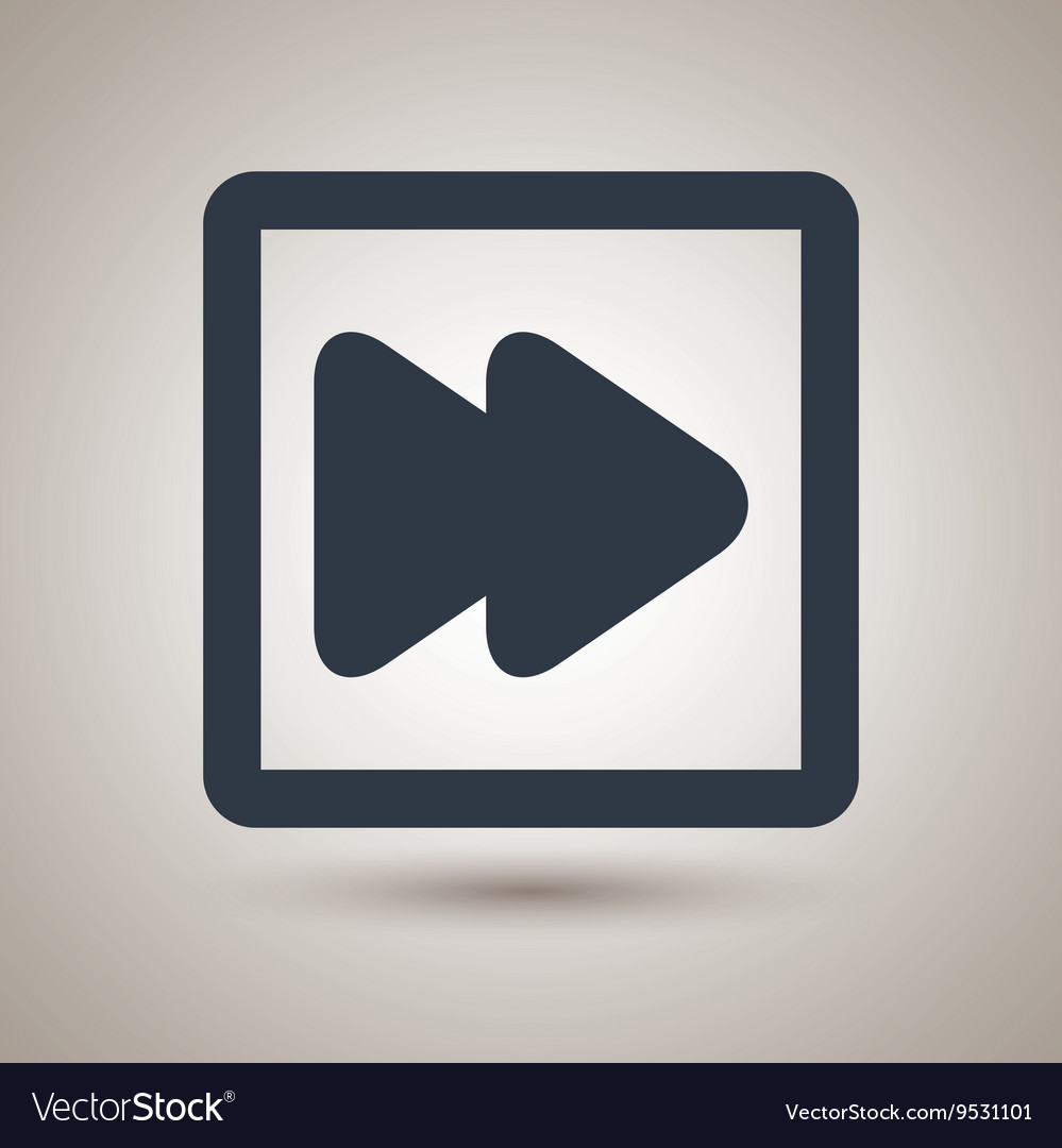 Player control panel design vector image