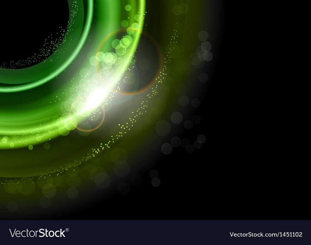 Background green dark vector image