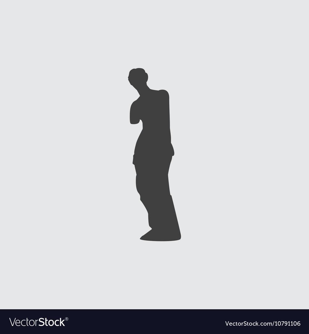 Venus de Milo icon vector image