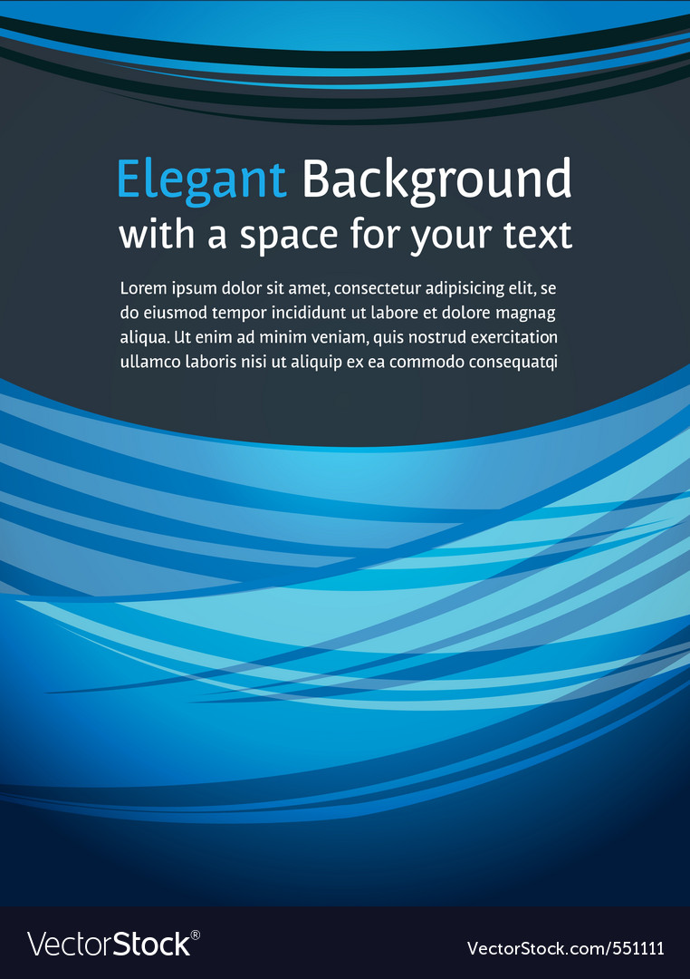 Modern document design vector image