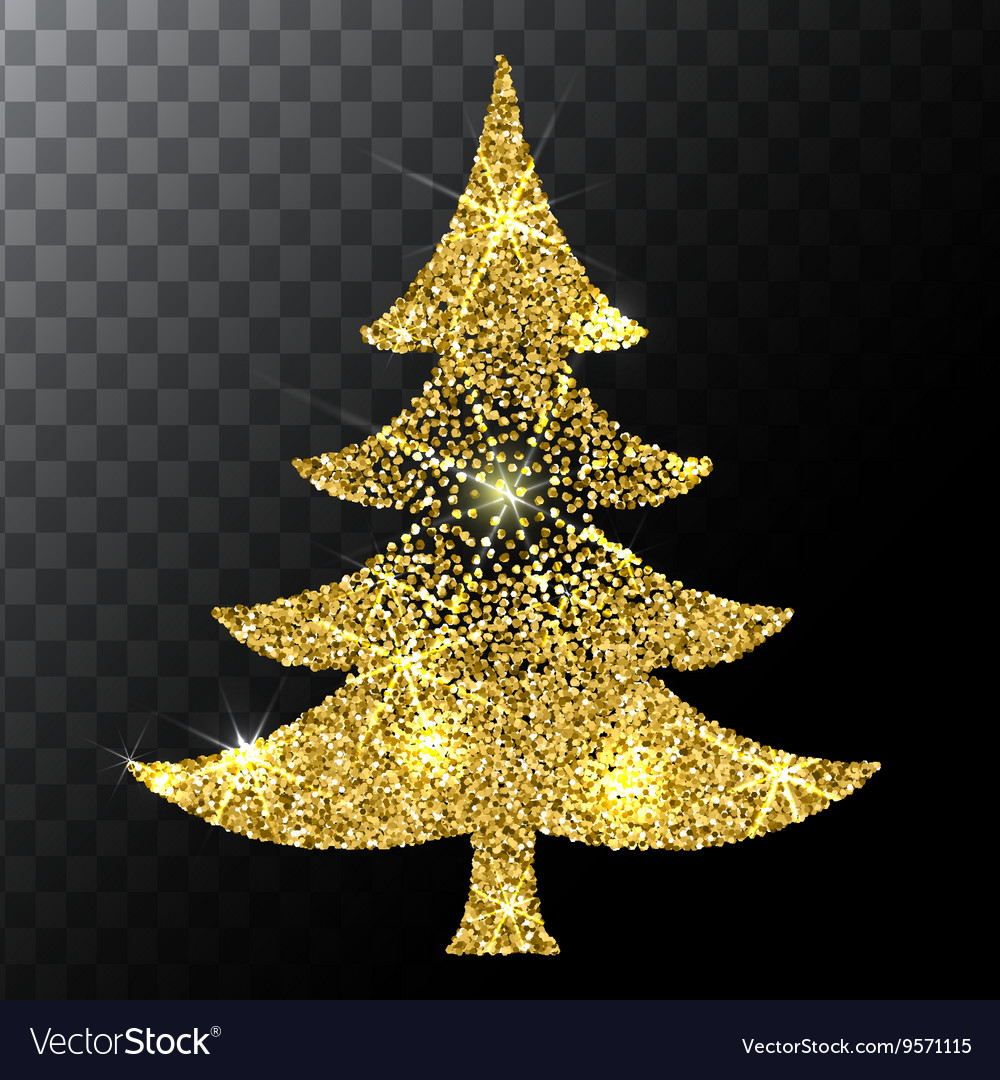 Gold glitter christmas decorations diepedia