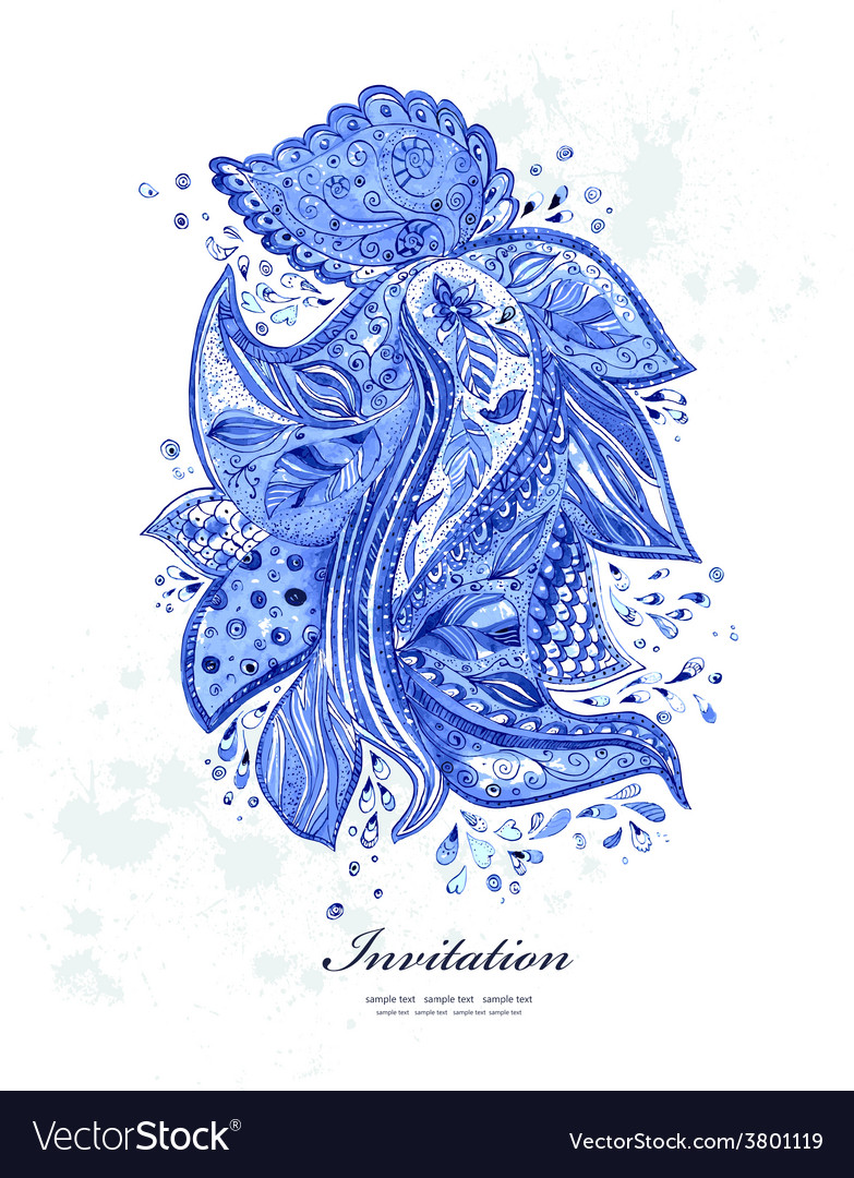 Fashion beautiful pattern for your business vector image