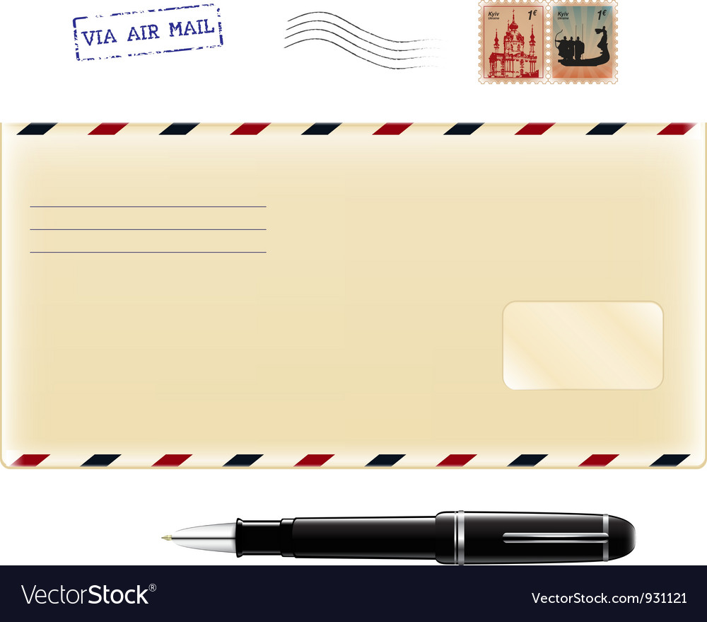 Set for letters vector image