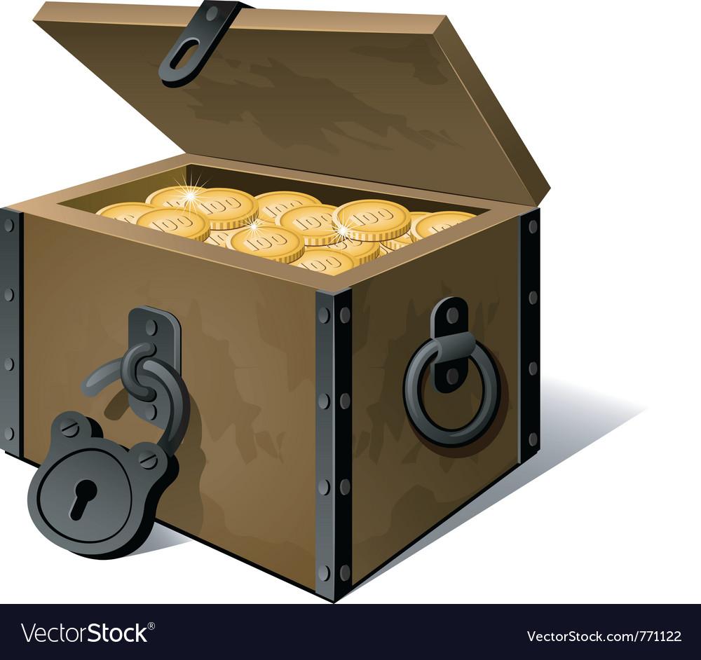 Treasure vector image