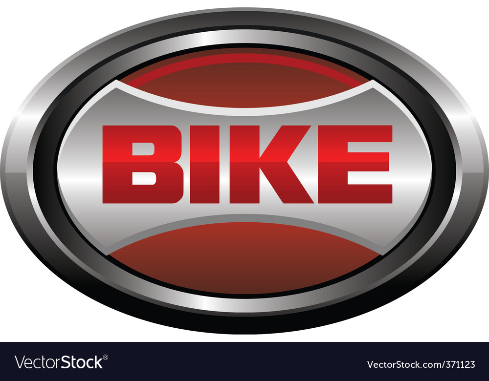 Bike element logo vector image