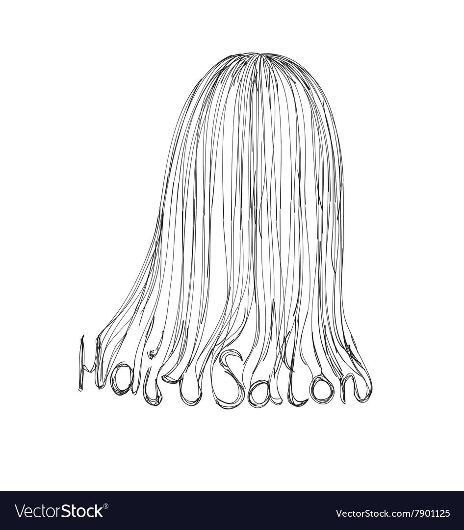 Hair Salon Poster vector image